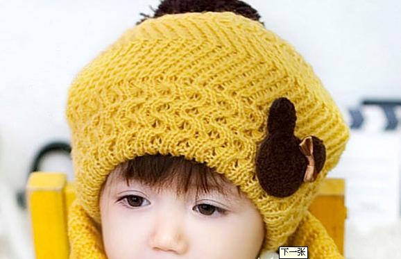 完美叶子编织帽子 麻花帽子宝宝帽子织法