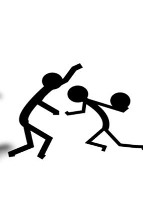 火柴人小游戏,人物都是以火柴棒结合而成,很有个性.