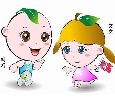 """卡通人物""""文文""""""""明明""""为礼仪浙江代言"""