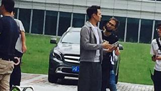 《欢乐颂2》拍摄ing 给赵医生的造型跪了