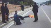 环卫工被撞飞20米身亡