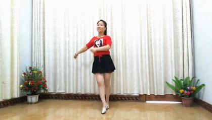 红领巾广场舞精选《烟花雨》性感美女健身操