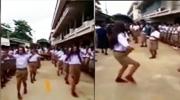 开学男生大跳性感热舞