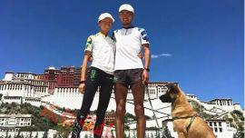 150天4700公里情侣从西湖一直跑到拉萨