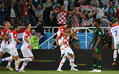 曼朱造点魔笛破门 克罗地亚2-0尼日利亚