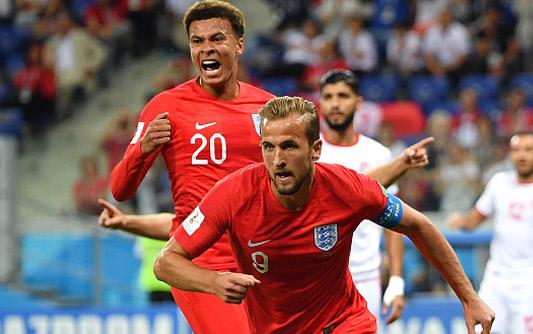 凯恩双响+补时绝杀 英格兰2-1突尼斯迎首胜