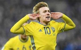 格兰奎斯特点射破门 瑞典1-0胜韩国