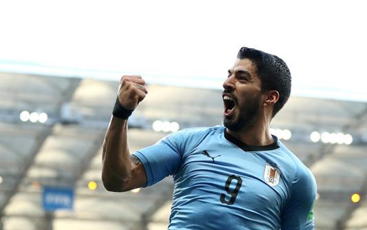 苏神破门乌拉圭1-0沙特