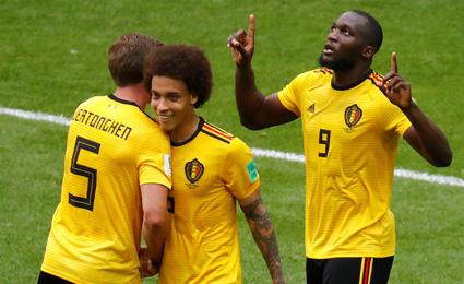 比利时5-2突尼斯 阿扎尔梅开二度吐舌卖萌(3D视频)