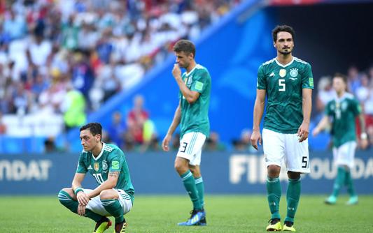 韩国2-0碾压卫冕冠军 德国结束本次世界杯之旅