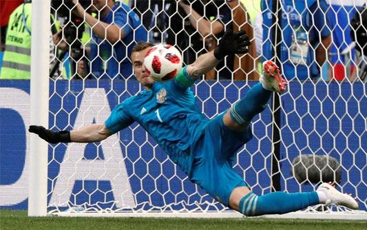 俄罗斯点球战5-4西班牙首进8强