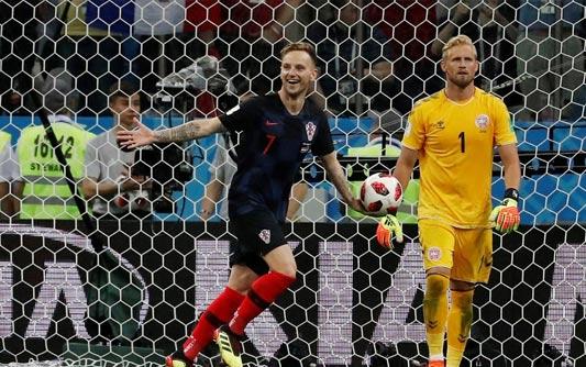 克罗地亚点球4-3丹麦挺进八强
