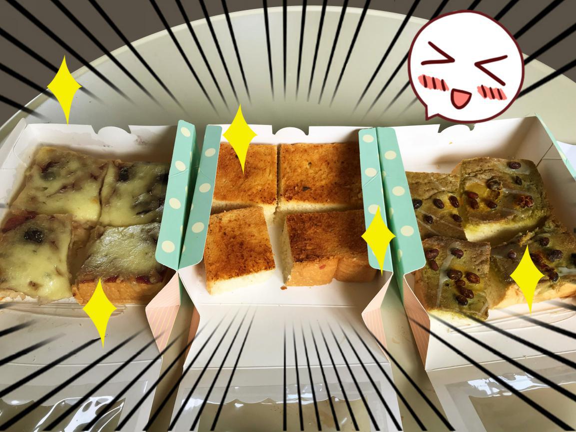 【一起来吃吧】现烤面包加咸甜淋面,涂层厚吐司的美味度到底有多高?