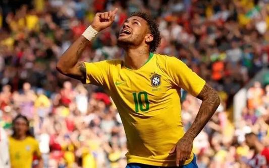 巴西2-0淘汰墨西哥,内马尔一传一射(3D视频版)