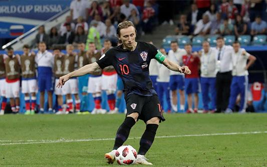 点球决胜!克罗地亚6-5淘汰俄罗斯 20年后再进世界杯4强