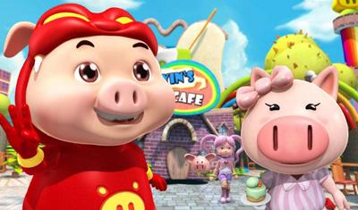 猪猪侠V:之积木世界的童话故事