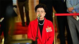 政协委员陈冯富珍:中国是全球卫生治理领导者之一