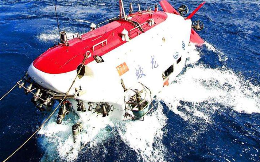 """""""蛟龙""""号载人潜水器?#21644;?#25104;首次大修升级 开始测试下潜"""