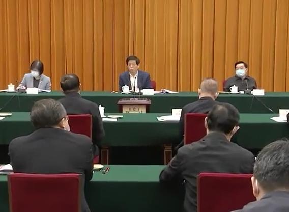 栗战书出席生物安全法实施座谈会