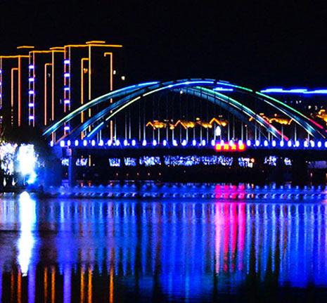 湖州太湖夜景