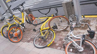 6家共享单车倒闭