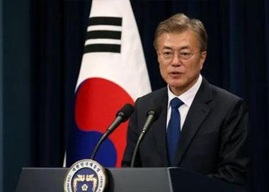韩国总统文在寅访华