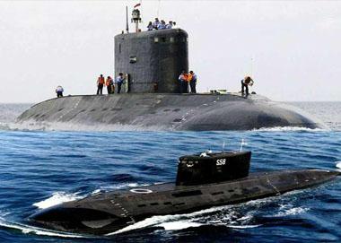 """印首艘国产核潜艇""""泡坏了"""""""
