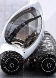 现实版变形金刚?可折叠变形的电动汽车