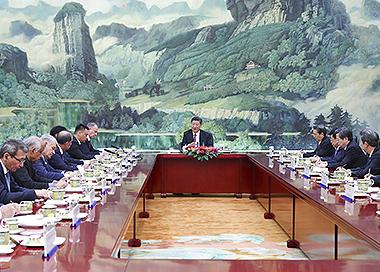 习近平:推动上海合作组织安全合作迈上新台阶
