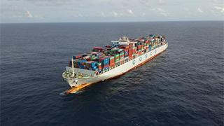 中远荷兰号将抵亚丁湾海域