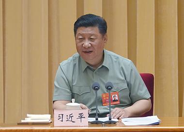习近平:全面加强新时代我军党的领导和党的建设工作