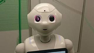 英国机器人首次亮相议会
