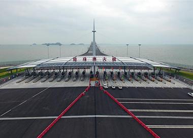 港珠澳大橋將于24日上午9時通車