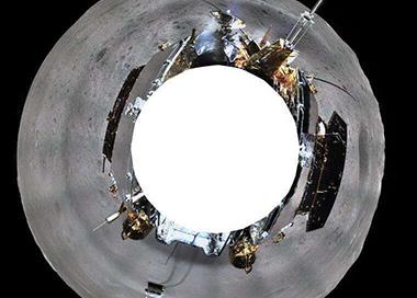 嫦娥四号完成首次生物科普展示