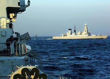 """""""和平-19""""多国海上联合演习闭幕"""