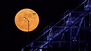 超级月亮VS流浪太阳