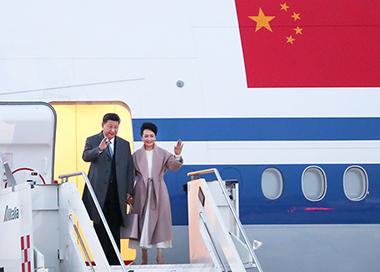 习近平离京对欧洲三国进行国事访问