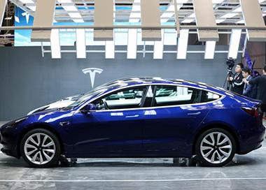 首批中國制造特斯拉Model 3