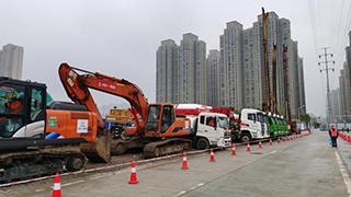 武汉首条地铁环线开工